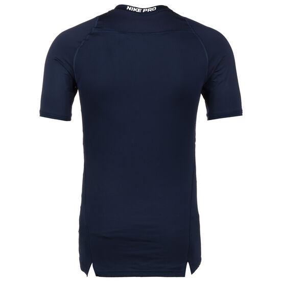 Pro Compression Trainingsshirt Herren, dunkelblau / weiß, zoom bei OUTFITTER Online