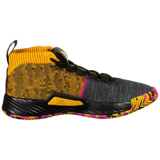 Dame 5 Basketballschuhe Herren, gold / pink, zoom bei OUTFITTER Online