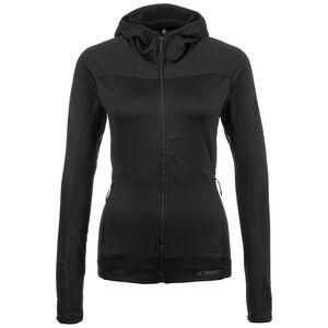 Terrex TraceRocker Hooded Fleece Laufjacke Damen, schwarz, zoom bei OUTFITTER Online