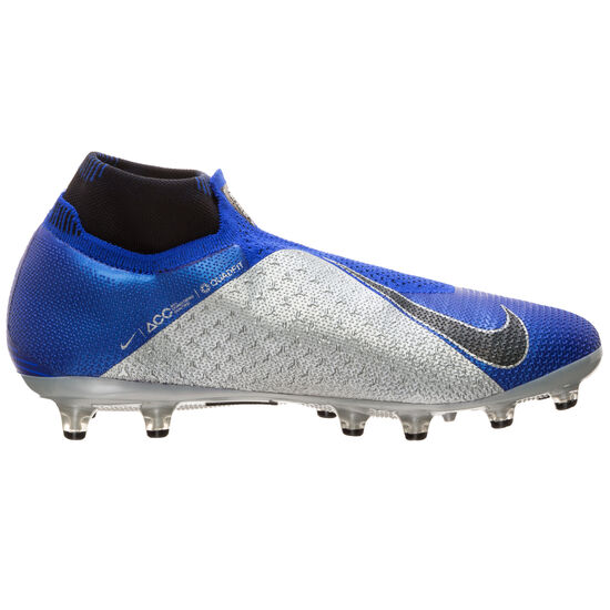 Phantom Vision Elite DF AG-Pro Fußballschuh Herren, blau / silber, zoom bei OUTFITTER Online