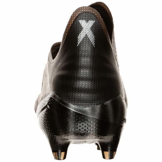 X 19+ FG Fußballschuh Herren, schwarz / silber, zoom bei OUTFITTER Online