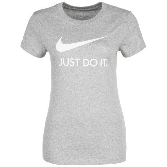 Just Do It Slim T-Shirt Damen, grau / weiß, zoom bei OUTFITTER Online