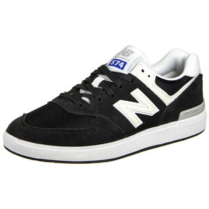 AM574 Sneaker Herren, schwarz / weiß, zoom bei OUTFITTER Online