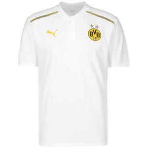 Borussia Dortmund BVB Casuals Poloshirt Herren, weiß / gelb, zoom bei OUTFITTER Online