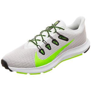 Quest 2 Laufschuh Herren, weiß / grün, zoom bei OUTFITTER Online