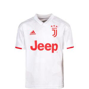 Juventus Turin Trikot Away 2019/2020 Kinder, weiß / rot, zoom bei OUTFITTER Online