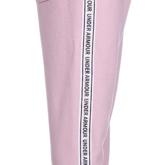 Sport Style Fleece Jogginghose Kinder, pink / weiß, zoom bei OUTFITTER Online