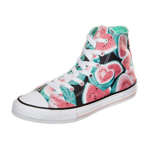 Chuck Taylor All Star Watermelon High Sneaker Kinder, Türkis, zoom bei OUTFITTER Online
