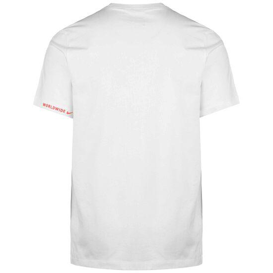 Sportswear Swoosh Worldwide T-Shirt Herren, weiß, zoom bei OUTFITTER Online