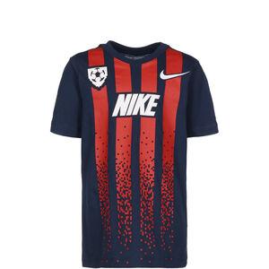 Soccer Jersey T-Shirt Kinder, dunkelblau / rot, zoom bei OUTFITTER Online