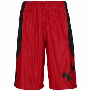Perimeter Basketballshorts Herren, rot / schwarz, zoom bei OUTFITTER Online