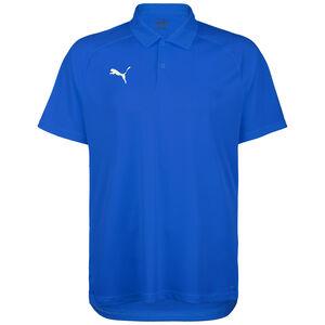 Liga Sideline Poloshirt Herren, blau / weiß, zoom bei OUTFITTER Online
