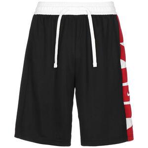 Dri-FIT Basketballshorts Herren, schwarz / rot, zoom bei OUTFITTER Online