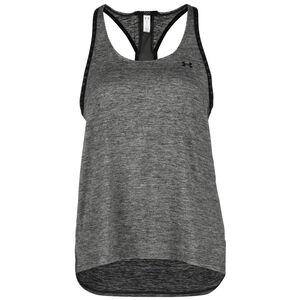 HeatGear Knockout Trainingstank Damen, grau / schwarz, zoom bei OUTFITTER Online