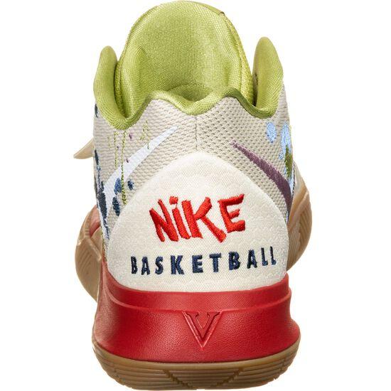 Kyrie 5 Bandulu Basketballschuh Herren, weiß / rot, zoom bei OUTFITTER Online