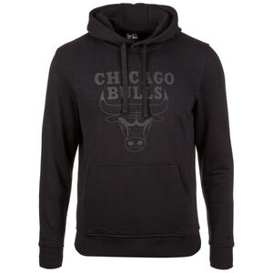 NBA Chicago Bulls Logo Kapuzenpullover Herren, Schwarz, zoom bei OUTFITTER Online