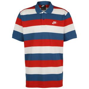 Matchup Stripe Poloshirt Herren, blau / rot, zoom bei OUTFITTER Online