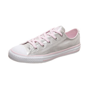 Chuck Taylor All Star OX Sneaker Kinder, silber / rosa, zoom bei OUTFITTER Online