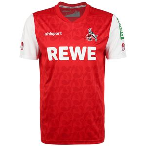 1. FC Köln Trikot Away 2021/2022 Herren, rot / weiß, zoom bei OUTFITTER Online