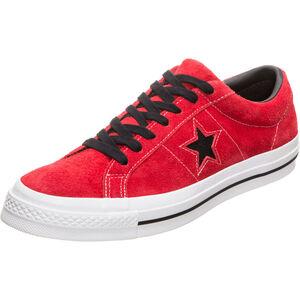 One Star Dark Star Vintage Suede OX Sneaker Herren, rot / schwarz, zoom bei OUTFITTER Online