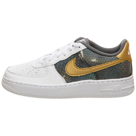 Air Force 1 SE Sneaker Kinder, weiß / gold, zoom bei OUTFITTER Online