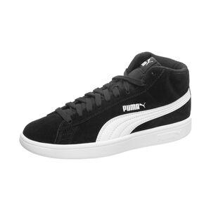 Smash v2 Mid Sneaker Kinder, schwarz / weiß, zoom bei OUTFITTER Online