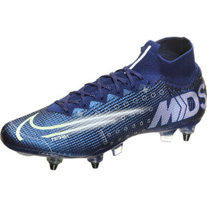 Mercurial Superfly 7 Elite MDS DF AC SG-Pro Fußballschuh Herren, blau / gelb, zoom bei OUTFITTER Online
