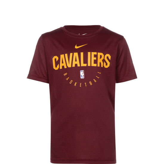 NBA Practice Cleveland Cavaliers T-Shirt Kinder, rot, zoom bei OUTFITTER Online