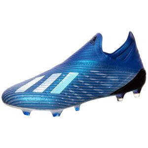 X 19+ FG Fußballschuh Herren, blau / weiß, zoom bei OUTFITTER Online