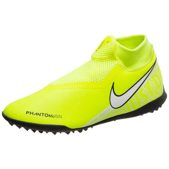 Phantom Vision Academy DF TF Fußballschuh Herren, neongelb / weiß, zoom bei OUTFITTER Online