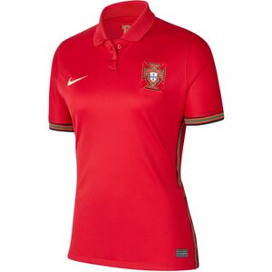 Portugal Trikot Home Stadium EM 2021 Damen, rot / gold, zoom bei OUTFITTER Online