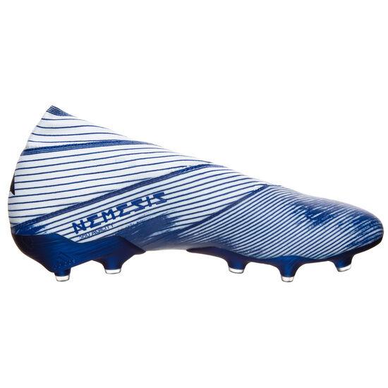 Nemeziz 19+ FG Fußballschuh Herren, weiß / blau, zoom bei OUTFITTER Online