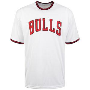NBA Tipping Wordmark Chicago Bulls T-Shirt Herren, weiß / rot, zoom bei OUTFITTER Online