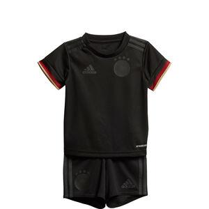 DFB Minikit Away EM 2021 Kleinkinder, schwarz / rot, zoom bei OUTFITTER Online