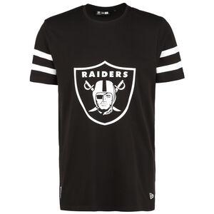 NFL Las Vegas Raiders Jersey Inspired T-Shirt Herren, schwarz / weiß, zoom bei OUTFITTER Online