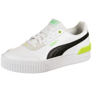 Carina Lift Sneaker Damen, schwarz / neongrün, zoom bei OUTFITTER Online