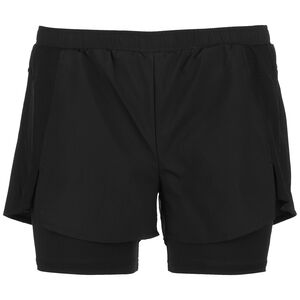 Designed 2 Move 2-in-1 Trainingsshorts Damen, schwarz, zoom bei OUTFITTER Online