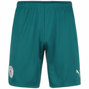 Manchester City Shorts 2021/2022 Herren, grün / weiß, zoom bei OUTFITTER Online