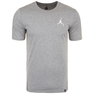 Jordan Jumpman Embroidered Air Herrenshirt, grau / weiß, zoom bei OUTFITTER Online