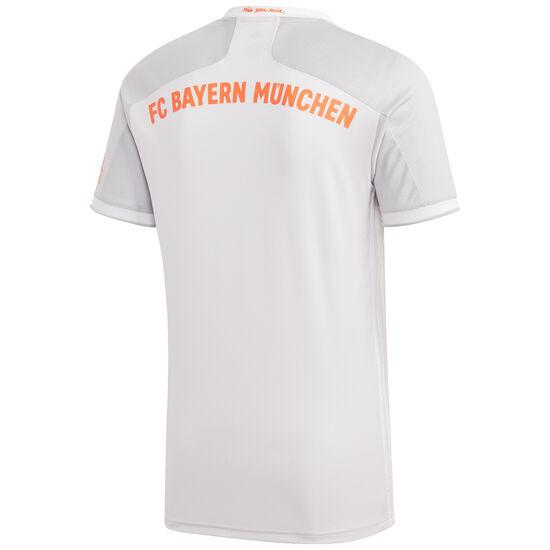 FC Bayern München Trikot Away 2020/2021 Herren, hellgrau / orange, zoom bei OUTFITTER Online