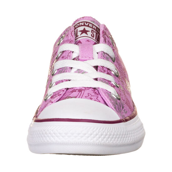 Chuck Taylor All Star OX Sneaker Kinder, pink / weiß, zoom bei OUTFITTER Online