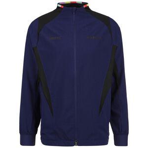 F.C. Woven AWF Trainingsjacke Herren, dunkelblau / schwarz, zoom bei OUTFITTER Online