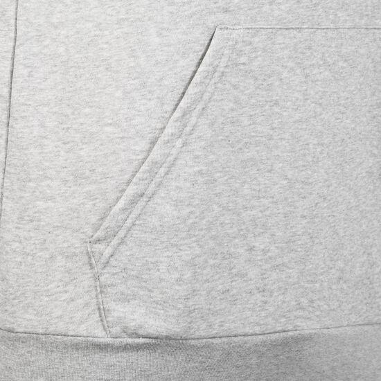 Essentials 3 Stripes Kapuzenpullover Herren, grau / schwarz, zoom bei OUTFITTER Online