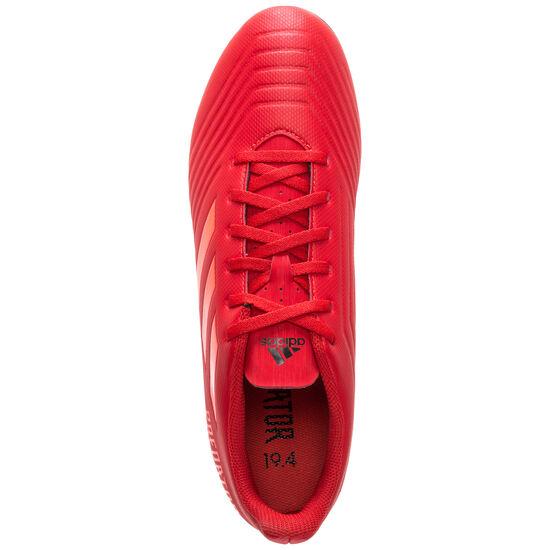 Predator 19.4 FxG Fußballschuh Herren, rot / schwarz, zoom bei OUTFITTER Online