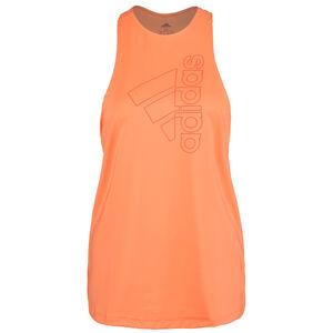 Badge of Sport Trainingstop Damen, orange / korall, zoom bei OUTFITTER Online