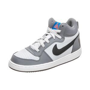 Court Borough Mid Sneaker Kinder, grau / schwarz, zoom bei OUTFITTER Online