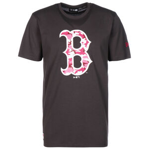 MLB Boston Red Sox Camo T-Shirt, dunkelgrau / rot, zoom bei OUTFITTER Online