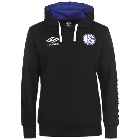 FC Schalke 04 Icon OH Kapuzenpullover Herren, schwarz, zoom bei OUTFITTER Online