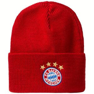 FC Bayern München Beanie, rot / weiß, zoom bei OUTFITTER Online