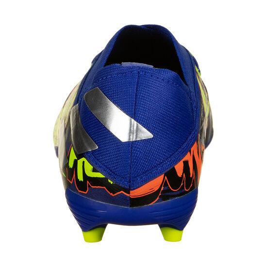 Nemeziz Messi 19.1 FG Fußballschuh Kinder, blau / bunt, zoom bei OUTFITTER Online